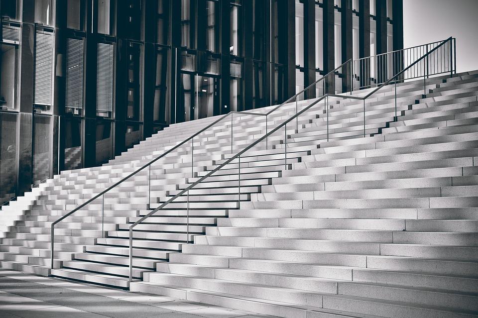 architektúra, schody