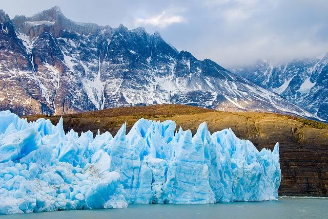 ohromný ledovec
